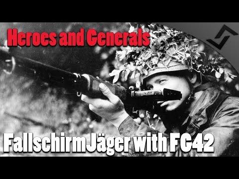 Heroes and Generals - FallschirmJäger with FG42 /w DarkLiberator