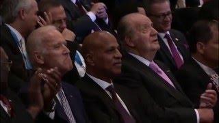 S.M. el Rey Juan Carlos asistió en Guatemala a la ceremonia de investidura de Jimmy Morales