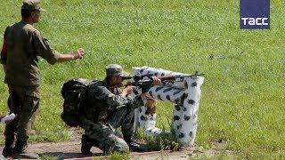 Российские военные разведчики стали лучшими на Армейских играх