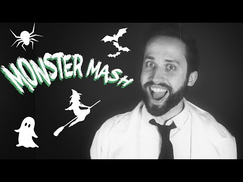 MONSTER MASH - (Pop Punk Halloween cover by Jonathan Young)