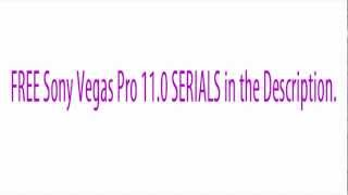 Sony Vegas 11 Serial/Activation Codes