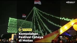 Kemeriahan Festival Cahaya di Monas