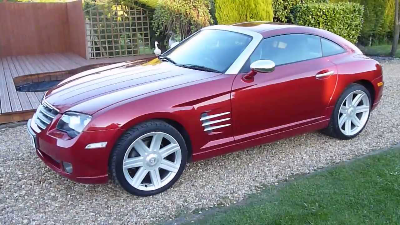Review Of 2006 Chrysler Crossfire 3 2 Auto For Sale Sdsc Specialist