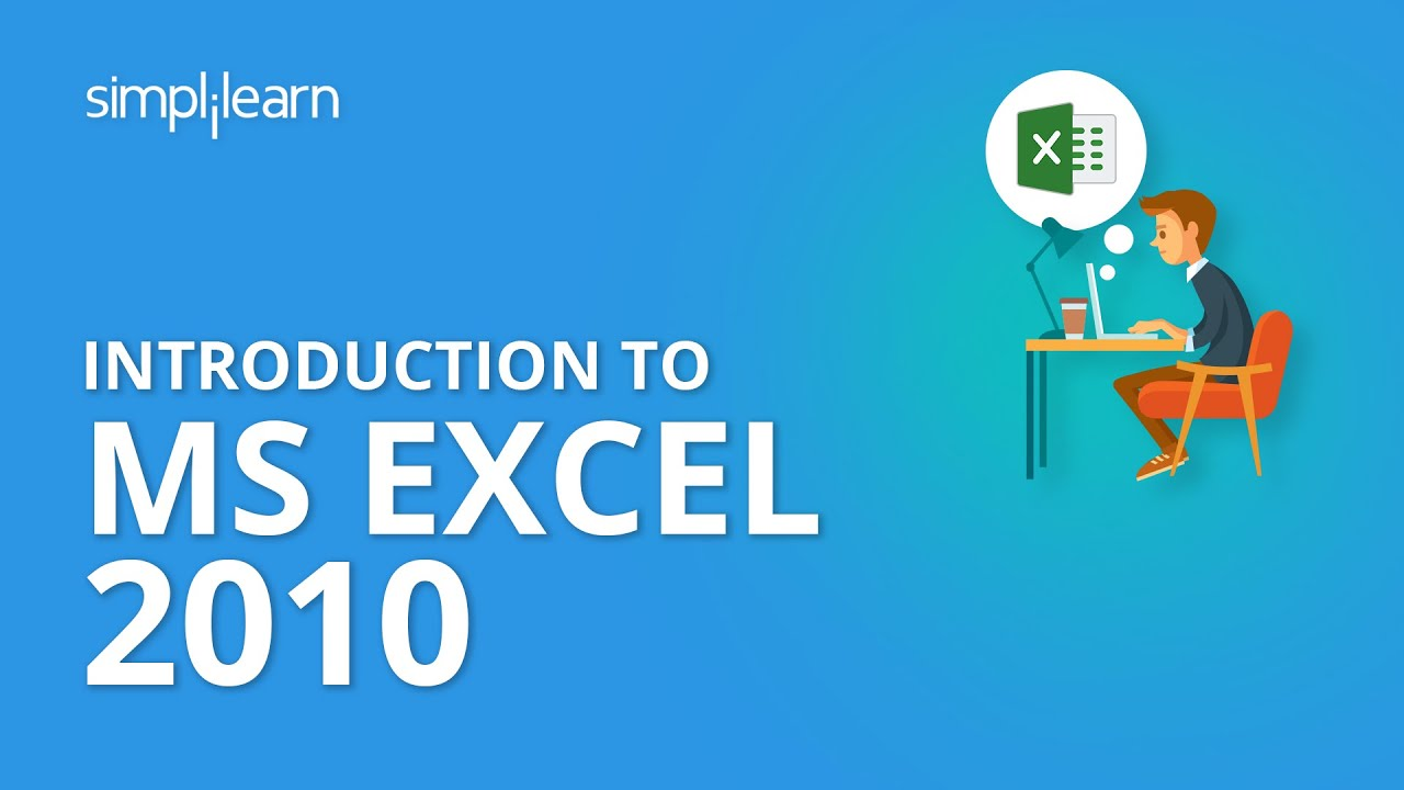 Introduction To Ms Excel 2010 Ms Excel 2010 Certification Training
