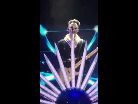 St. Lucia, empire of the sun at the bill graham auditorium snap clips