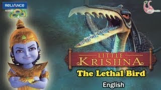 Little Krishna | Assault Of The Lethal Bird | Episode 9