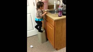 Toddler step stool