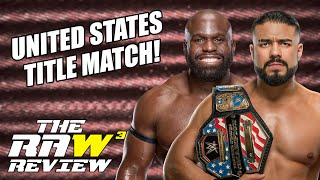 Andrade vs. Apollo Crews for the US Title! | The Raw Review (May 25, 2020)