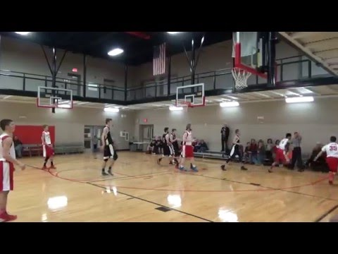 Western Kentucky Trailblazers vs Aaron Academy _12-10-2015