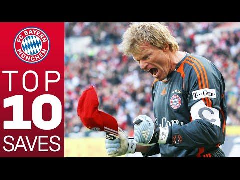 Oliver Kahn - Top 10 Saves for FC Bayern