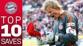Oliver Kahn - Top 10 Saves for FC Bayern