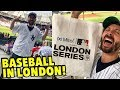 Baseball In London! My Trip To Europe's First MLB Game!