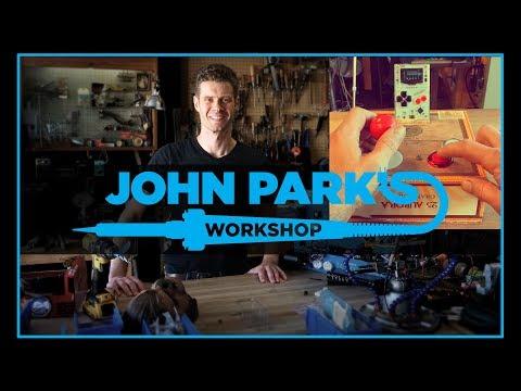 JOHN PARK'S WORKSHOP LIVE 11/8/17 Arduboy Game Control Hack