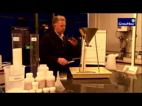 Bulk Density Test - AN vs Urea