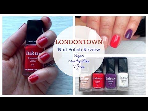 LondonTown Vegan Nail Polish Swatches + Review