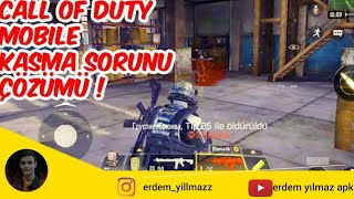 CALL OF DUTY MOBİLE DONMA KASMA SORUNU - 60 FPS