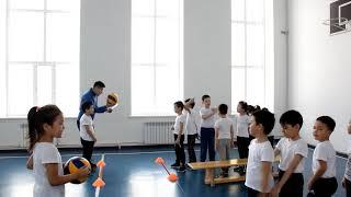 Тема урока: Игры с мячом