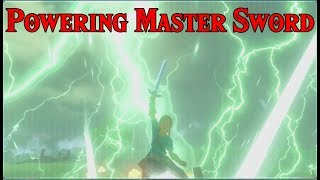 "POWERING The Master Sword! The ""UNBREAKABLE Sword"" in Zelda Breath of the Wild"