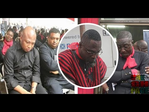 Tears draws at Multimedia's memorial service for the late Kwadwo Asare-Baffuor Acheampong(KABA