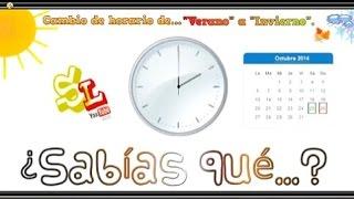Cuándo se cambia la Hora en España - Cambio de Horario de Verano a Invierno - Retrasar el Reloj