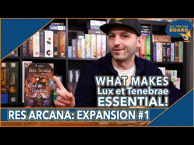 Res Arcana: Lux et Tenebrae | Expansion #1 | Why it's an ESSENTIAL addition to Res Arcana!