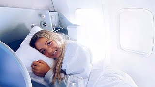 FLYING FIRST CLASS | TRAVELING HOME FROM COACHELLA