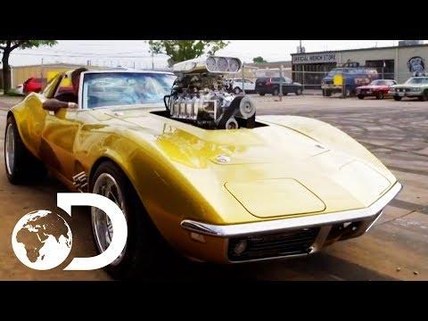 Taking A Ride In The Hot Wheels Corvette   Fast N' Loud