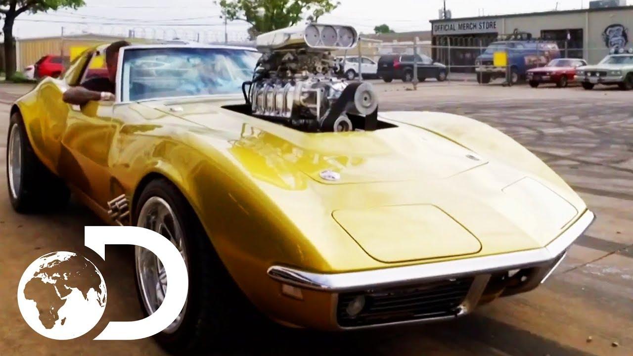 Fast N' Loud:  Taking A Ride In The Hot Wheels Corvette