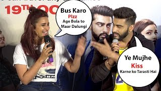 Arjun kapoor trolling  parineeti chopra Namaste england movie promotions