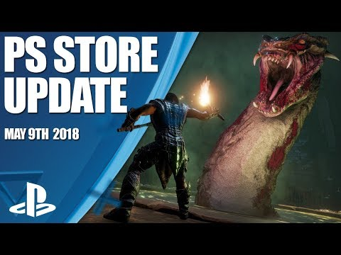 PlayStation Store Highlights - 9th May 2018