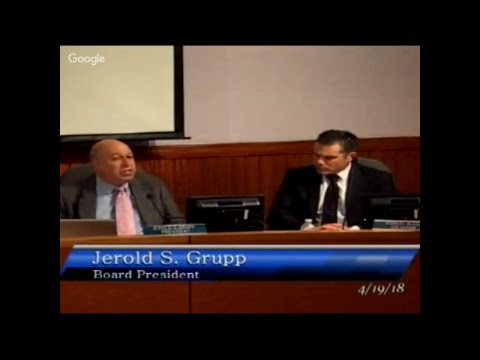 School Board Meeting, April 19, 2018