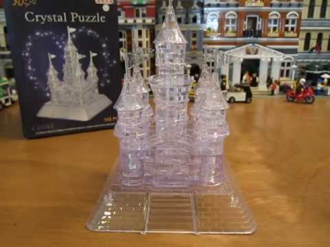 3d Crystal Castle Puzzle Review Youtube