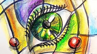 Как нарисовать Глаз | Урок рисования для детей | Развивающее видео(Второй развивающий урок рисования, где я рисую глаз. Предлагаю вам посмотреть серию рисунков глаз. Глаз..., 2016-09-08T10:00:02.000Z)