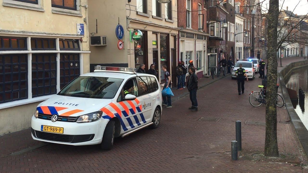 Gptv Politie Leeuwarden Pakt Wapenzwaaier Op Youtube