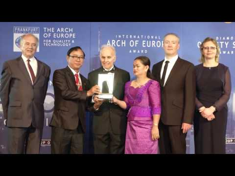 clinic toch yan hemorrhoid to received award in Germany