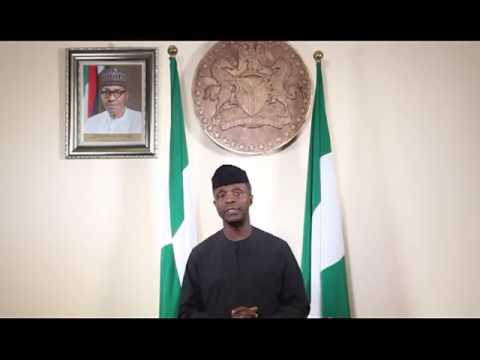 Political Forum G50 : Prof. Yemi Osinbajo National Broadcast On #DemocracyDay 2017