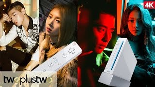 Korean Celebrities play Wii for the FIRST TIME! ft. KARD [DIA STAGE]