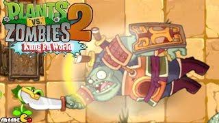 Plants Vs Zombies 2: Kung Fu World New UPDATE ( FINAL ZOMBOSS) Walkthrough Part 21 (China Version)