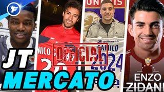 Camilo, Gaitán, Wagué, Enzo Zidane ; TOUS LES DERNIERS OFFICIELS | Journal du Mercato