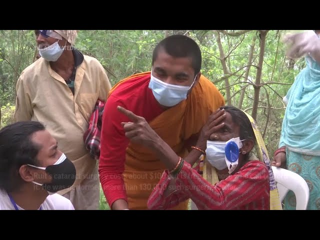 Doctor on mission to eradicate cataracts in Nepal