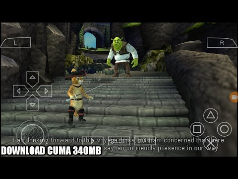 Cara Download Game Shrek The Third PPSSPP Android