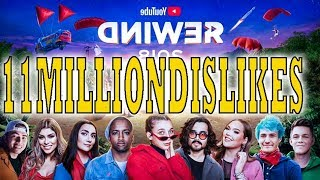 Youtube Rewind Dislikes 2018 | 12 Million Dislikes | Most Disliked Video on Youtube