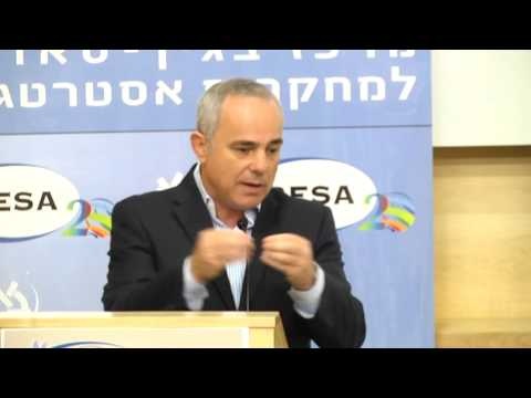 Military and Political Lessons of Operation Protective Edge - Dr. Yuval Steinitz