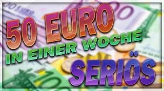 Geld verdienen mit Apps | SERIÖS 50 € in EINER Woche | TOP 3 APPS