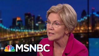 Elizabeth Warren Targets 'Corruption Right At The Heart Of Our Government' | Rachel Maddow | MSNBC