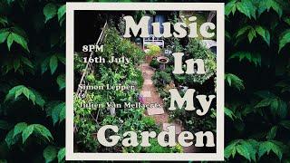 Music in my Garden with Julien Van Mellaerts