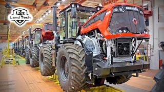 Настоящий Российский Как производится легендарный трактор Кировец К-7М и К-525