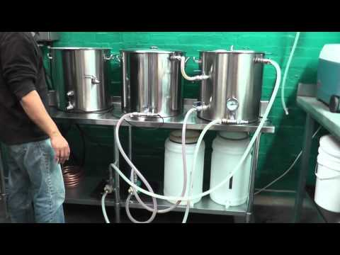 1st AG brew day on electric brewery