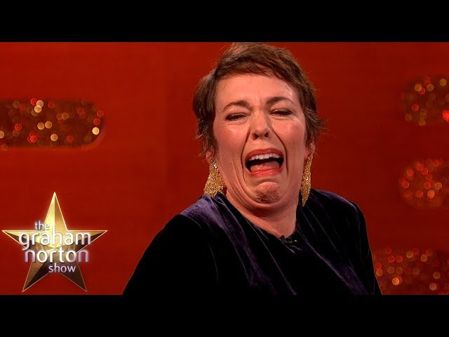 Emma Stone Was Worried About Sex Scenes With Olivia Colman | The Graham Norton Show