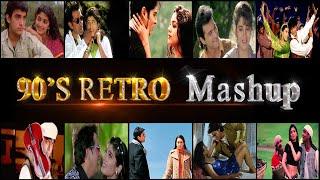 90's Retro Mashup   Bollywood Old Songs   Dj Parth   Sajjad Khan Visuals